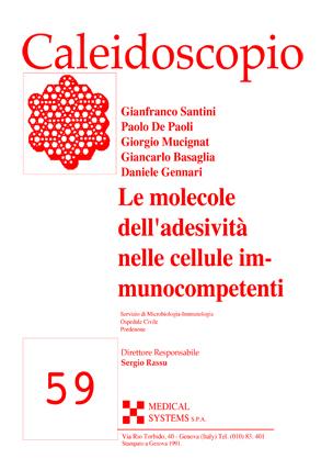 59_Le molecole dell'adesività_Copert